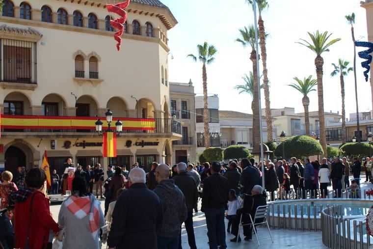 Huércal-Overa conmemora el 39 Aniversario de la Constitución