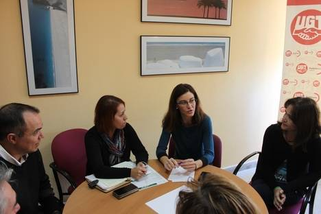 Secretaría General de Medio Ambiente y Cambio Climático se reúne con la UGT Almería