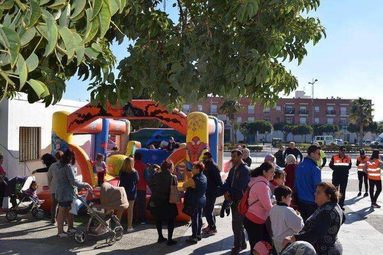 Niños de Níjar participan en un festival por el Día Internacional de la Infancia