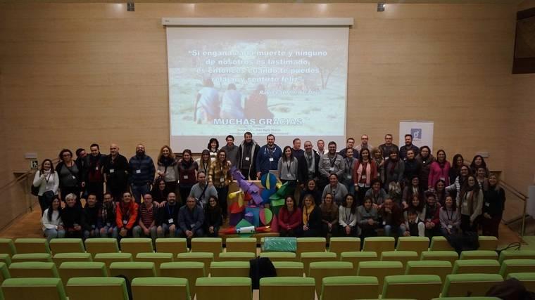 Los 91 Agentes Guadalinfo de Almería en la jornada Espacio en Blanco