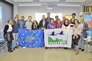 El Aula del Mar acoge un encuentro del proyecto Life Conhabit que busca poner en valor el paraje Punta Entinas