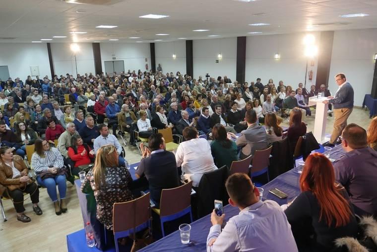 """Más de 500 afiliados apoyan el proyecto de Antonio Jesús Rodríguez para """"volver a gobernar Níjar"""""""