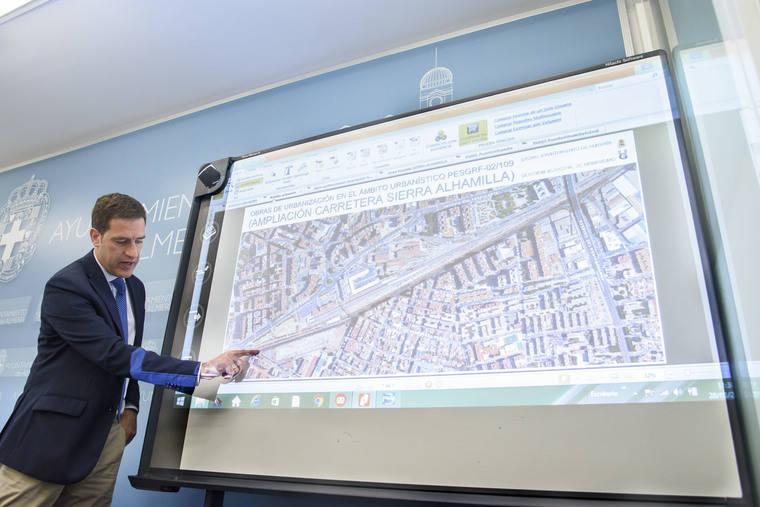Urbanismo aprueba el proyecto para ampliar carretera de Sierra Alhamilla, cuya obra se hará por tramos