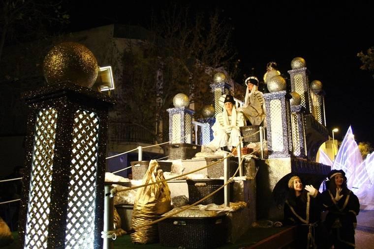 Los Reyes Magos repartirán más de 1.600 kilos de golosinas en El Ejido