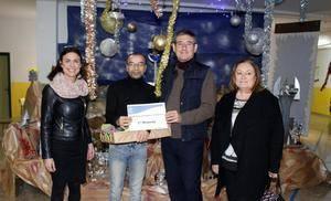El Belén futurista de Mare Nostrum consigue el primer premio del concurso de belenes escolares