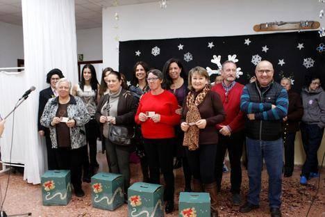 La Residencia de Mayores de Adra celebra la Navidad