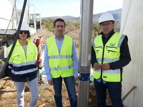 Sondeo 'Cruce de Caminos' en Benizalón ya está en marcha gracias a Diputación