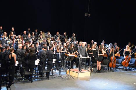 Agrupación Musical San Indalecio le pone ritmo a la Navidad en su concierto en el Auditorio