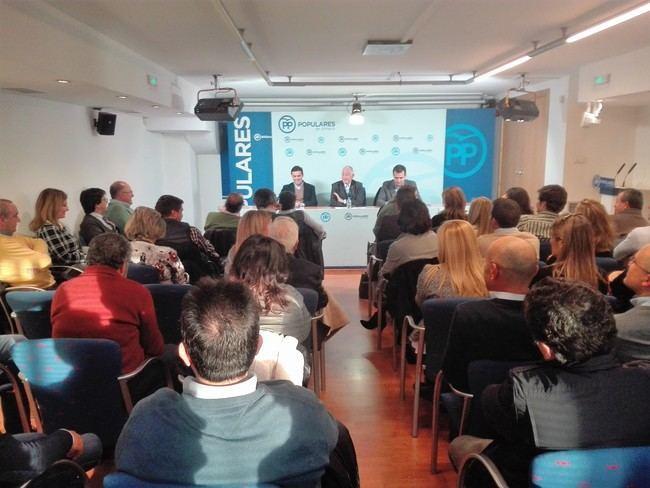 Partido Popular culminará en febrero la renovación de las ejecutivas locales