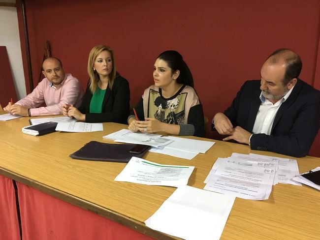 El PSOE pone en valor la inversión de la Junta de Andalucía en Adra