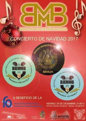 La Escuela Municipal de Música de Berja ofrece este viernes su concierto de Navidad