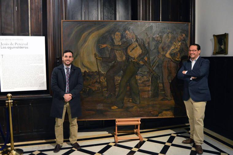 Museo Doña Pakyta exhibe 'Los Aguinalderos' del joven Perceval