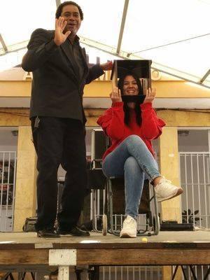 'Mago Manel El Pío' en la Navidad de Huércal de Almería