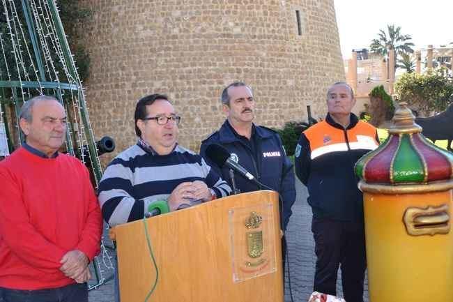 Casi 600 animadores en la Cabalgata de Reyes Magos de Roquetas