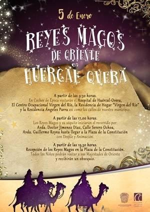Huércal Overa prepara la Noche de Reyes
