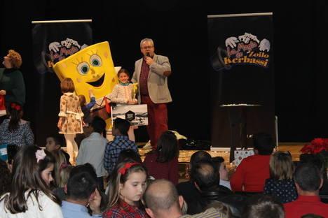 Más de 300 niños participan en la divertida Fiesta Infantil de Reyes de CSIF