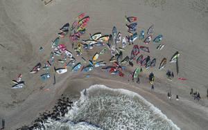 Éxito de participación en el mundial de Windsurf Junior PWA Víctor Fernández Center Almerimar
