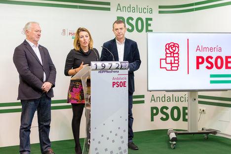 Almería ha perdido 1.000 millones en inversiones en los seis años de gobierno del PP según el PSOE