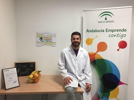 Un nutricionista se instala en los alojamientos gratuitos de Andalucía Emprende en Berja