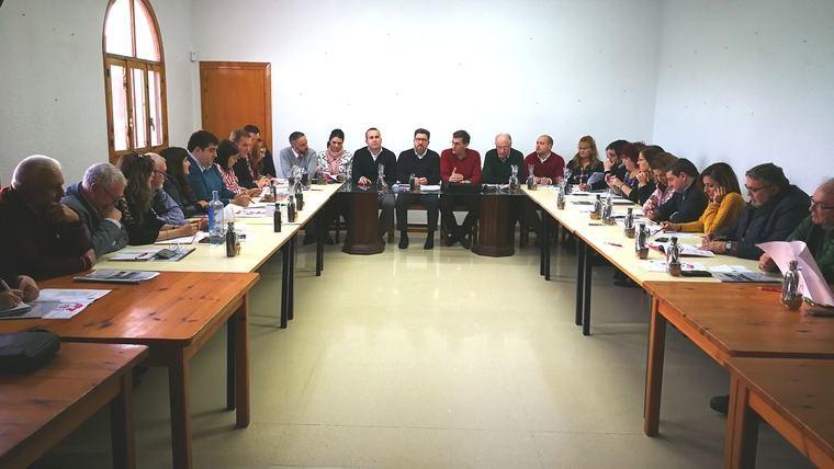 La Ejecutiva Provincial del PSOE valora el apoyo que está prestando la Junta a los agricultores de Almería