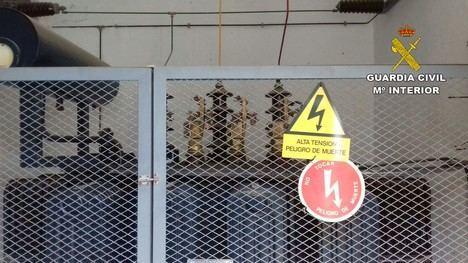 Se disfraza de funcionario del Ayuntamiento de Sorbas para robar el cobre de una cantera