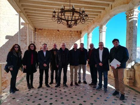 Adjudicada la redacción del proyecto de reconstrucción del Patio del Castillo de Vélez-Blanco