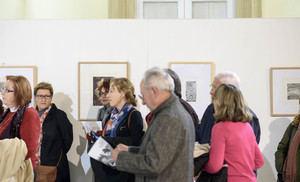 El legado artístico de Rafael Gadea abre las exposiciones del Patio de Luces de la Diputación
