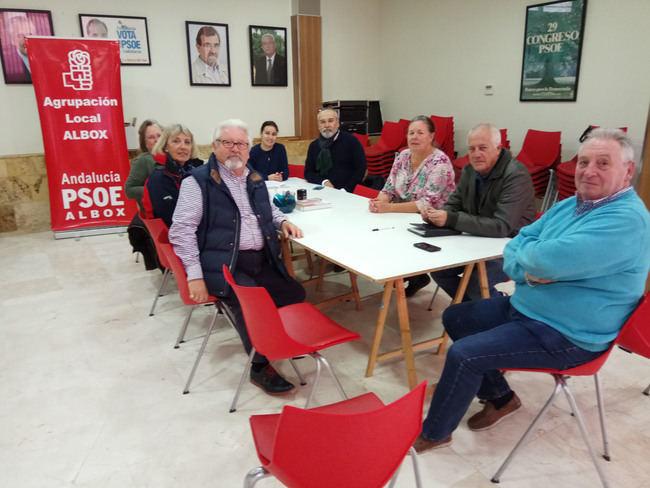 PSOE analiza con AUAN el anteproyecto de ley de Ordenación Urbanística de Andalucía
