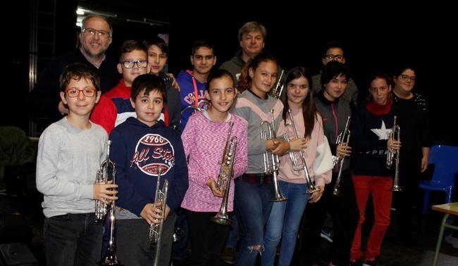 El Centro Cultural acoge el I Seminario Internacional de Trompeta de Adra