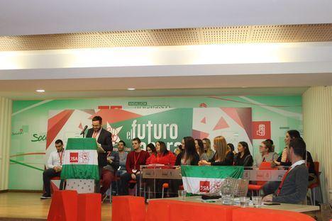 JJSS de Almería renueva su ejecutiva con Juan Francisco Garrido como secretario General