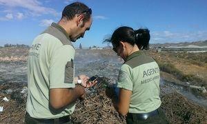Dispositivo especial de vigilancia en San Antón para detectar quemas agrícolas prohibidas