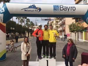 La Media Maratón de Cuevas recauda 2.200 € para la AECC