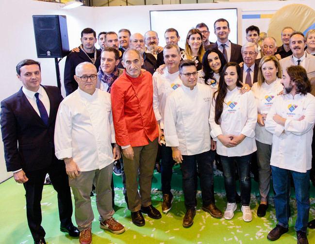 Chefs de prestigio internacional avalan en FITUR la candidatura de Almería a Capital de la Gastronomía 2019