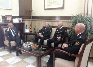 Por primera vez Almería cuenta con tres comisarios de Policía Nacional