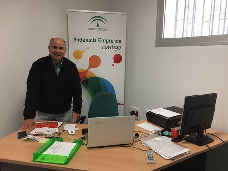 CADE de Berja aloja a un emprendedor dedicado al comercio internacional de productos hortofrutícolas