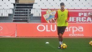 El Almería encara la recta final de su puesta a punto para la cita contra el Numancia