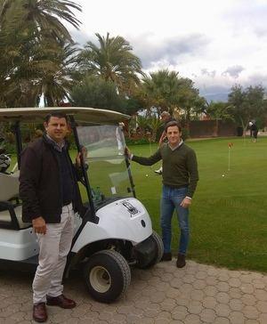 El turismo de golf en Roquetas vuelve a rozar las 60.000 salidas
