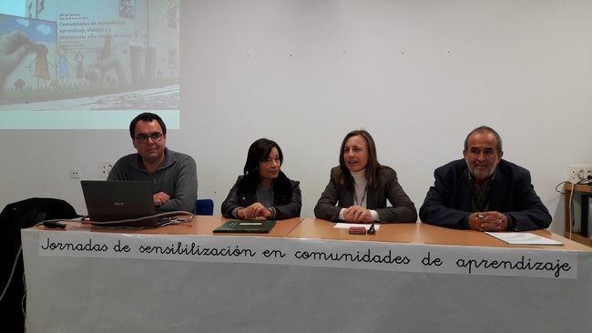 Educación visibiliza las 'Comunidades de aprendizaje' en el CEIP José Saramago