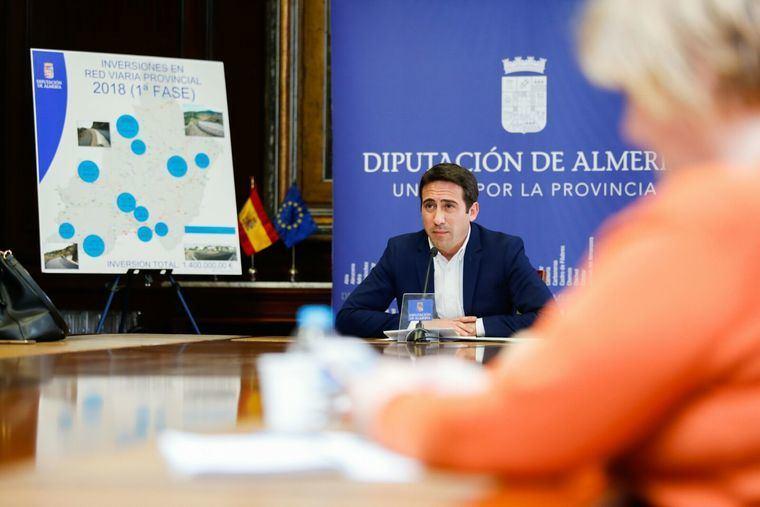 Diputación invertirá en la mejora de 200 kilómetros de carreteras que conectan 20 municipios
