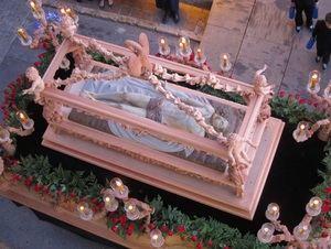 El Santo Sepulcro presidirá el Vía Crucis de las Hermandades y Cofradías de Berja