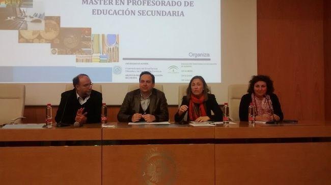 250 estudiantes del 'Máster en Profesorado de Secundaria' realizarán prácticas en 40 centros de Almería