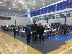 Más de 300 deportistas de 22 municipios participan en el Circuito de Promoción de ajedrez de Diputación
