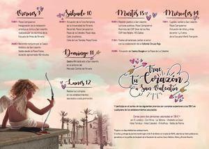 'Trae tu corazón a San Valentín' llena el centro de Almería