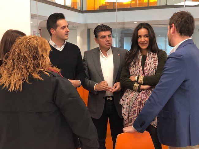 """Miguel Cazorla: """"Ciudadanos saldrá a ganar las elecciones municipales de 2019"""""""