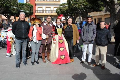 Huércal de Almería se disfraza de carnaval en una mañana muy festiva