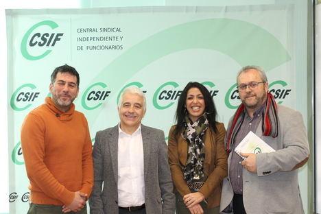 CSIF se reúne con Ciudadanos para analizar la situación de la educación pública en Almería