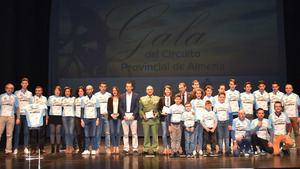 Berja acoge una emocionante Gala del Ciclismo Almeriense 2017