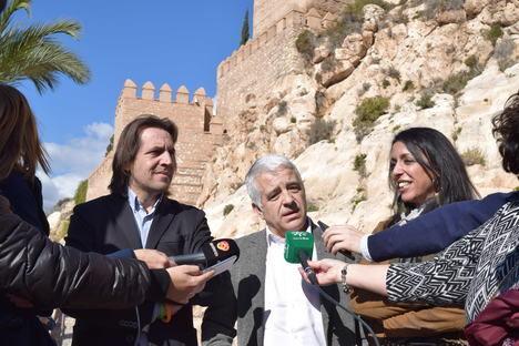 Ciudadanos denuncia el abandono de la Alcazaba e insta a la Junta a ejecutar íntegramente el presupuesto