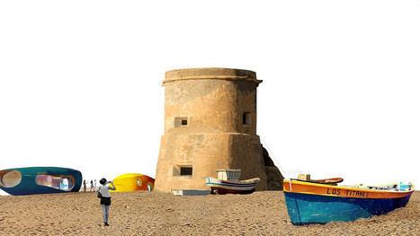 El Torreón de Cabo de Gata servirá para exposiciones y alrededor se simularán barcas varadas