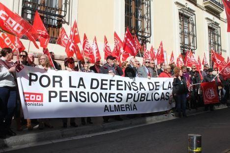 UGT y CCOO reclaman pensiones